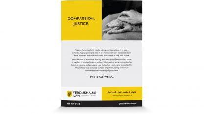 Yeroushalmi Law Program Book Ad